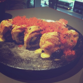 12012013: Koh Grill & Sushi Bar- the famous SHIOK Maki